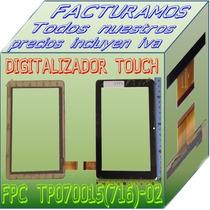 Digitalizador Touch Tablet Fpc-tp070015(716)-02 Mt70253-v0