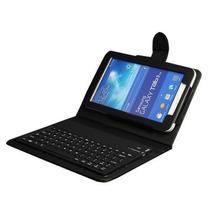 Teclado Bluetooth Para Galaxy Tab 7.0 Lite 3 Sm-t110 Negro
