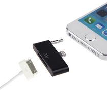 Adaptador Audio 8 A 30 Pines Para Iphone 5 Ipod 5 Ipad Mini
