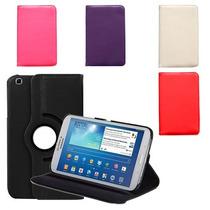 Funda Giratoria Samsung Galaxy Tab 3 De 8 T310 T311 + Mica