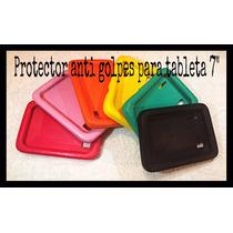 Protector Tablet 7 Antigolpes Flexible Genérica Funda