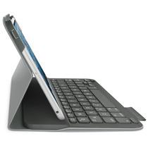Funda Logitech Con Teclado Para Ipad Mini 3/2 Y Mini Gris