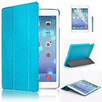 Smart Cover Ipad 6 O Air2 + Case Clear + Mica + Stylus