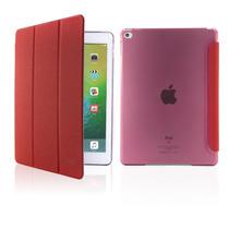 Ipad Mini 4 Funda Cartera Folio Smart Cover Rojo