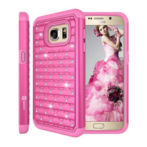 Estuche S7 Galaxy, Galaxyon 1 Stylus [color De Rosa Calient