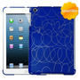 Protector Ipad Mini Azul Rayones Compatible Con Smart Cover