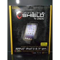 Zagg Invisible Shield Para Ipad 2 Y 3 Cobertura Completa