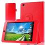 Funda De Cuero Acer Iconia One 7 B1-730 7.0 Pulgada Rojo
