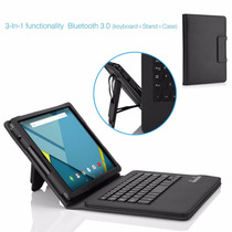 Funda Y Teclado Htc Nexus 9 Folio Bluetooth Generico Moko