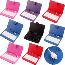 Funda Teclado Compatible Tablet Mx Gobierno Sep Micro Usb