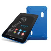 La Mas Barata Funda Tablet Vorago Tc-124 Azul Goma 7