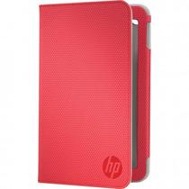 Funda Hp E3f48aa Slate 7 Folio Rojo +c+