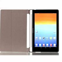 Funda De Cuero Lenovo Yoga Tablet 10 Pulgadas Negro
