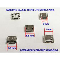 Conector De Carga Samsung Trend Lite S7390 S7392 5 Piezas
