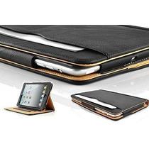 Nueva S-tech Apple Ipad 2 3 4 Generación Suave Carpeta De Cu