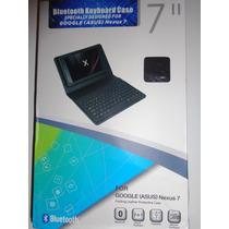 Funda Con Teclado Bluetooth Para Tablet Google Nexus 7(2012)
