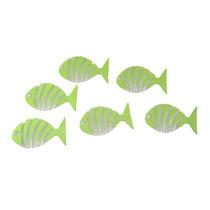 Juego De 6 Antiderrapantes De Pez Verde Ba-430537 Namaro