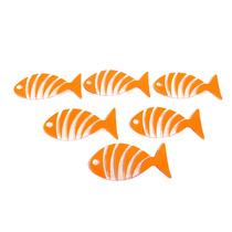 Juego De 6 Antiderrapantes De Pez Naranja Ba-427506 Namaro