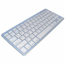 Teclado Bluetooth Tipo Mac Tablet Pc Ipad Celulares Iphone