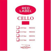 Cuerdas Para Cello Red Label (envio Gratis)
