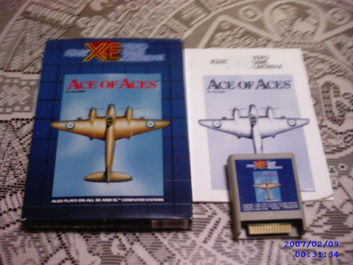 Ace Of Aces Para Atari Xe Xl