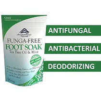 Antifúngica Tea Tree Oil Foot Soak Con Sales De Epsom Ayuda