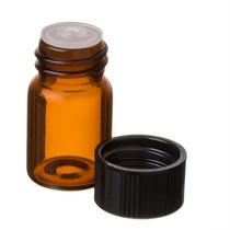 Mini Botellas Ambar De Vidrio 2ml De Aceites Esenciales 48pz