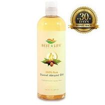 Mejor Vida 4 Productos 100% Puro De Almendras Dulces Gas 16