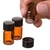 Easytle 2 Ml (5/8 Dram) De Vidrio Ámbar Botella De Aceite Es