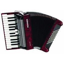 Acordeon Piano Hohner Br48r 48 Botones 26 Notas Envío Gratis