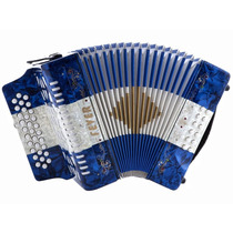 Acordeon Fever F3112-bwb Clave Gcf Color Azul