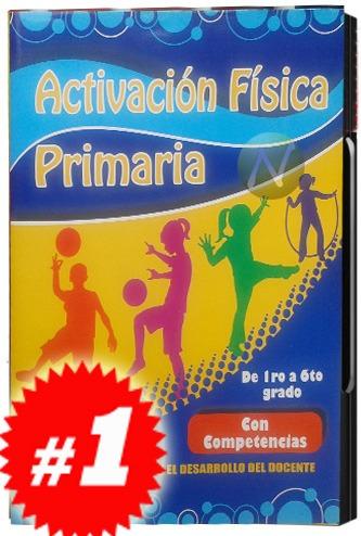 Activación Física Primaria Por Competencias 3 Cds