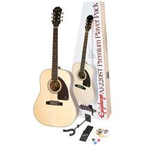 Remate De Guitarra Acústica Epiphone Nueva En Paquete