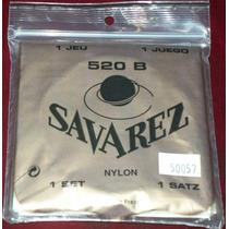 Savarez 520b Finas Cuerdas Nylon Guitarra Y Envio Gratis