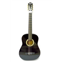 Guitarra Acustica Clasica Negro Campero Cuerdas De Nylon