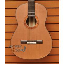 Guitarra Clásica De Paloescrito, Cedro Café Y Palo De Rosa
