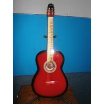 Guitarra Acustica Hecha En Paracho Roja
