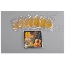 Cuerdas Nylon Guitarra Clasica Spock Calidad Superior Rusia