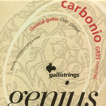 Galli Genius Carbonio Gr95 Cuerdas Italianas Guitarra Nylon