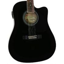 Del Mismo Tamaño Thinline Negro Guitarra Eléctrica Acústica