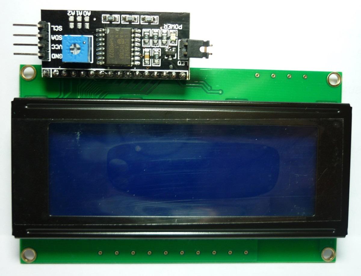 Adaptador serial i c para lcd o pic arduino