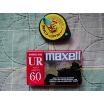 Regesadora Manual Y Cassette De Audio Maxell Nuevo Vbf