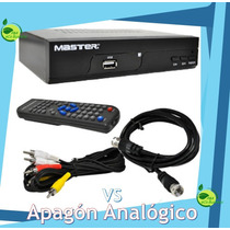 Sintonizador Decodificador Convertidor Digital Hd Vs Apagon