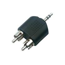 Adaptador 2 Plug Rca A Plug 3.5 Mm Estereo