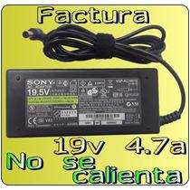 Cargador Original Sony Vaio Vgn-nw130th 19.5v 4.7a Daa