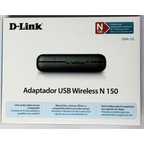 Adaptador De Red Inalambrica Wifi D-link Usb N150 Tarjeta