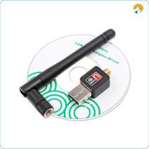 Adaptador Usb Wifi, Con Antena De Red Para Wlan 802 Inalambr