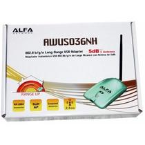 Antena Wifi Alfa Awus036nh V5 Ralink Rt3070 2w 150 Mbps