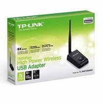 Tp-link 150mbp Adaptador Alta Potencia Rompemuro Tl-wn7200nd
