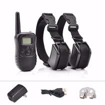 2 Collar Entrenador De Perros Vibracion Shock Petrainer